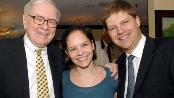 Warren Buffett, Lory Spier, and Guy Spier