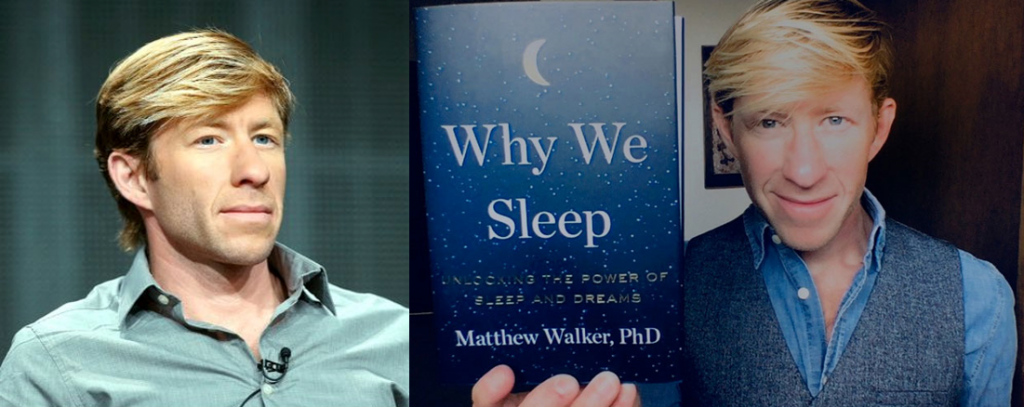 Matthew Walker and his book, Why We Sleep